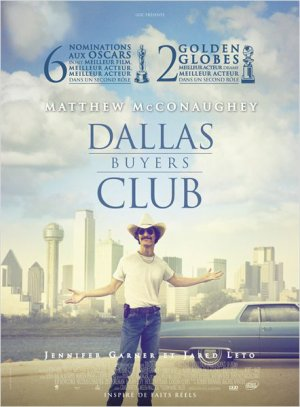 """ Dallas Buyers Club "" avec Jared Leto et Matthew McConaughey"