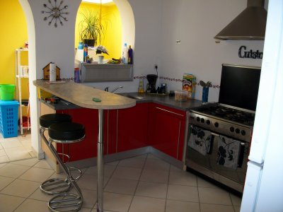 La cuisine jennifer et sa petite vie - Table cuisine americaine ...