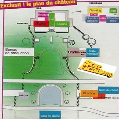 Le plan du chateau de la star academy 5 j r my et maud - Chateau de la star academy ...