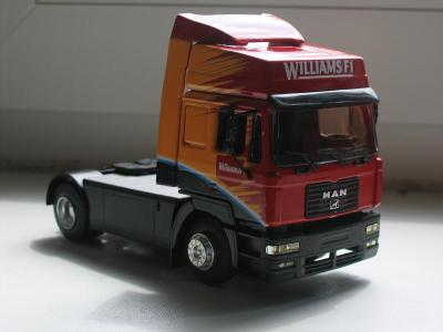 F 2000 Man F2000 1/43 Eligor - US and other truck 1/43