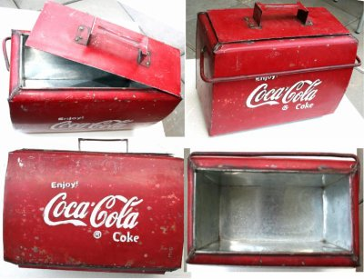 glaci re brocante de marseillan plage collection coca cola. Black Bedroom Furniture Sets. Home Design Ideas