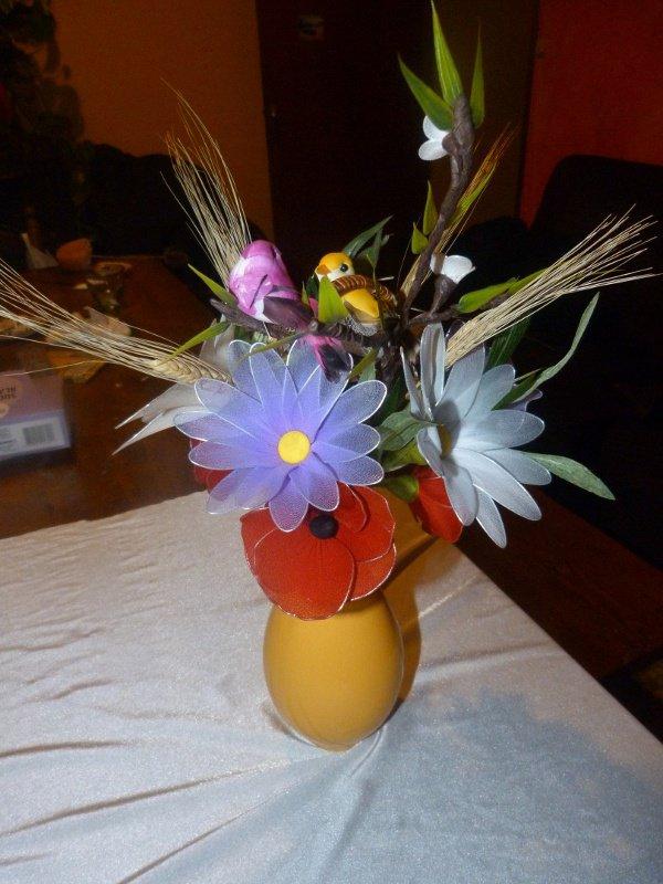 bouquet fleurs des champs toutes d coration fleurs pour. Black Bedroom Furniture Sets. Home Design Ideas